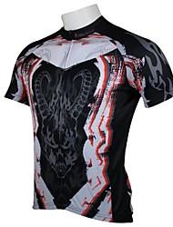 ILPALADINO Muškarci Kratkih rukava Biciklistička majica Životinja Bicikl Biciklistička majica, Quick dry, Ultraviolet Resistant,
