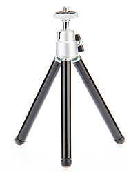 cheap -I-12-3-BK Mini Desktop Aluminum Tripod with Single-deck Three Sections (Sliver&Black)