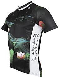 povoljno -ILPALADINO Muškarci Kratkih rukava Biciklistička majica Životinja Bicikl Biciklistička majica, Quick dry, Ultraviolet Resistant,