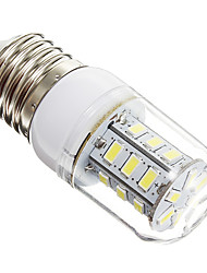 cheap -3W E14 E26/E27 LED Corn Lights 24 leds SMD 5730 Warm White Cold White 270lm 6000-6500K AC 220-240V