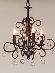 economico -4-Light Candela-style Lampadari Luce ambientale - Stile Candela, 220-240V Lampadine non incluse / 10-15㎡ / E12 / E14