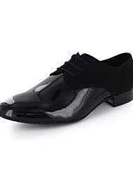 cheap -Men's Leatherette Upper Modern Dance Shoes Oxfords With Lace-ups