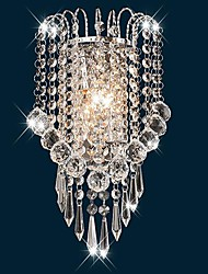 Crystal Flush Mount wall Lights,Modern/Contemporary E12/E14 Metal