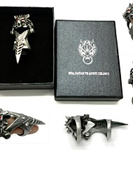 cheap -Jewelry Inspired by Final Fantasy Cosplay Anime/ Video Games Cosplay Accessories Ring Alloy Men's