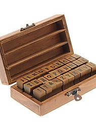 Stamp Alphabet Toy Upper Case and Symbols