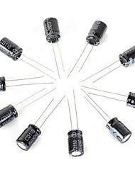 10V/1000UF capacitores eletrolíticos - preto (10 PCS)