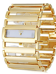 cheap -Women's Bracelet Watch Japanese Casual Watch Stainless Steel Band Luxury Elegant Silver / Gold - Gold Silver