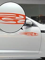 Красный потока Лайнер Pattern Декоративные автомобиля стикер