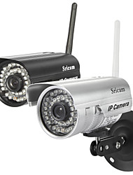 cámara ip sricam® día noche a prueba de agua inalámbrico sensor CMOS de 1/4 de pulgada de color