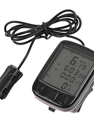 cheap -Bike Computer,Waterproof LCD Cycling Bike Bicycle Computer Odometer Speedometer 24 Functions