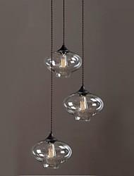 Lampadari ,  Vintage Rustico Pittura caratteristica for Stile Mini Bicchiere Camera da letto Sala da pranzo Sala studio/Ufficio Ingresso
