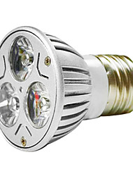 cheap -MR16 3W 1W*3 LEDs 270-300LM Warm White/White Light LED Spot Bulb (AC 100--220V)
