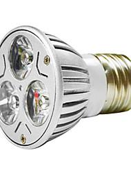 mr16 3w 1w * 3 led 270-300lm lampada calda bianca / bianca principale principale (ac 100--220v)