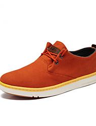 Uomo tela tacco piatto Comfort Fashion Sneakers Shoes (più colori)