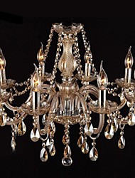 cheap -Chandelier ,  Modern/Contemporary Traditional/Classic Vintage Painting Feature for Crystal GlassLiving Room Bedroom Dining Room Kitchen