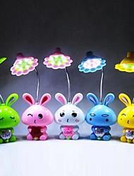 Недорогие -Coway высокое качество привело кролика небольшая настольная лампа (случайный цвет)