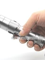 Torce LED Torce LED 1000 Lumens 3 Modo Cree XM-L T6 Batterie non incluse Resistente agli urti Impugnatura antiscivolo Impermeabile per