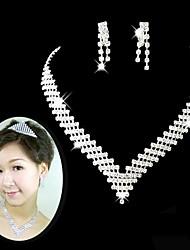 baratos -Mulheres Gema Conjunto de jóias - Outros Prateado