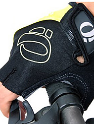 KORAMAN® Sporthandschuhe Herrn Fahrradhandschuhe Sommer Fahrradhandschuhe Antirutsch / Atmungsaktiv Fingerlos Nylon FahrradhandschuheGelb