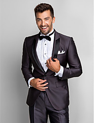 cheap -Tuxedos Slim Fit Shawl Collar Single Breasted One-button Polyester