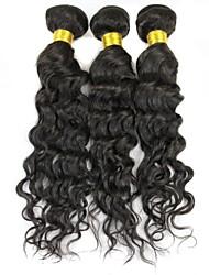 mélanger 16&18&20 pouces / lot 5a grande cheveux vague d'eau de cheveux humains Peruvian d'extension / armure