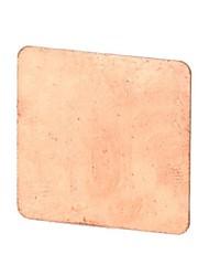 Cuivre pur de conduction thermique Pad pour CPU
