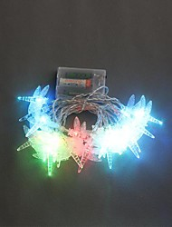 20-LED 2.5M Battery Powered Dragonfly Color Changing String Fairy Lights for Christmas Party Wedding
