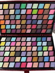 Недорогие -Профессиональный 120 цветов Блеск Палитра теней для макияжа с Роскошный красный кожаный Вечерние Bag120S