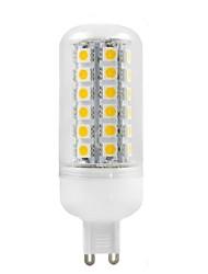 Недорогие -G9 6 Вт 48x5050smd 500lm 2800-3200K теплый белый свет привел кукурузы лампы (AC 220-240)