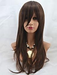26inch Capless lang høj kvalitet syntetisk Straight Soft Hair Wig Mix 2/30