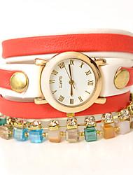 Dare U Women's Fashion  Wrapped Bracelet Watch