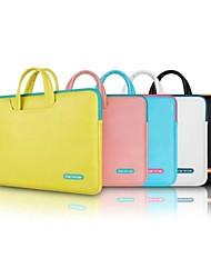 abordables -Bolsos de Mano Un Color Cuero de PU para MacBook Pro 15 Pulgadas / MacBook Air 13 Pulgadas / MacBook Pro 13 Pulgadas