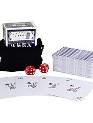 Недорогие -настольная игра пластик маджонг карты (88мм * 66мм) + байки мешок