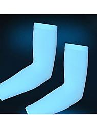 Недорогие -Митенки Велоспорт Дышащий Ультрафиолетовая устойчивость Пригодно для носки Защита от солнечных лучей Жен. унисекс Синий