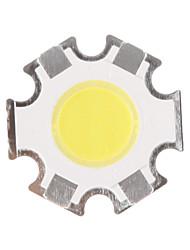 abordables -5w cob 450-500lm 6000-6500k puce blanche fraîche menée par lumière (15-17v, 300ua)