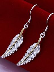 vilin plumage boucles d'oreilles de femmes