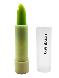 Lip Salve Green and Apple- scented Cosmetic Beauty Care Makeup for Face