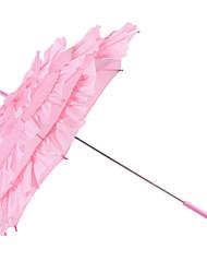 Matrimonio / Mascherata Terital Ombrello Manico a uncino 27.2ipollici (Approx.69cm) Plastica 28ipollici (Approx.71cm)