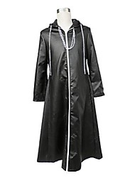 cheap -Inspired by Kingdom Hearts Cosplay Video Game Cosplay Costumes Cosplay Suits Solid Colored Cloak