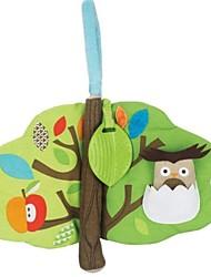 Недорогие -верхушки дерева лес в форме прорезыватель ткань книги для детских мягких игрушек деятельности