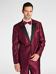 Недорогие -черный&красный полиэстер с учетом нужным куртка