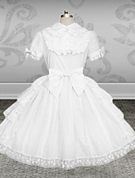 cheap -Classic Lolita Dress Lolita Women's Dress Cosplay Short Sleeves Medium Length