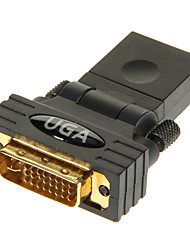 HDMI Female to DVI24+5 Male Adapter