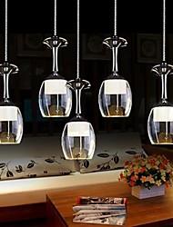 cheap -LightMyself™ 6-Light Pendant Light Downlight - Mini Style, LED, 110-120V / 220-240V, Warm White / Cold White, Bulb Included / 10-15㎡