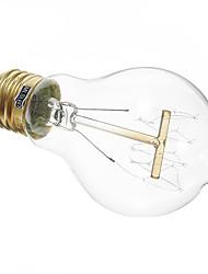 billige -1pc 40 W 350 lm E26 / E27 A19 LED Perler Varm hvid 220-240 V / RoHs