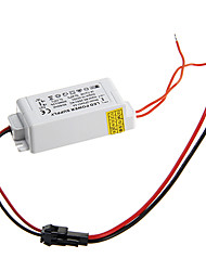 0.3A 4-7W DC 10-25V to AC 85-265V External Constant Current Power Supply Driver for LED Panel Lamp
