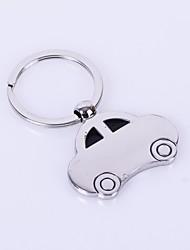 Недорогие -Форма автомобиля металла серебряные брелок игрушки