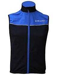 Realtoo Cycling Vest Men's Women's Unisex Sleeveless Bike Vest/Gilet Tops Thermal / Warm Windproof Fleece Lining Breathable Fleece