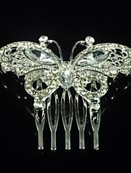 Недорогие -серебристый сплав бабочки для женщин элегантный элегантный женский стиль