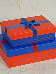 2 Piece/Set Favor Holder-Cuboid Card Paper Gift Boxes Non-personalised
